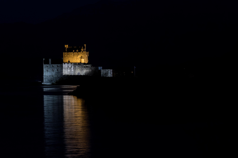 dieses Foto zeigt das Eilean Donan Castle in Schottland