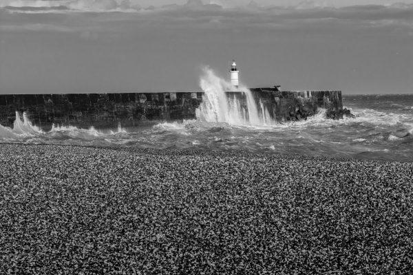 dieses Foto zeigt einen Leuchtturm in Südengland